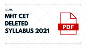 mht cet deleted syllabus 2021