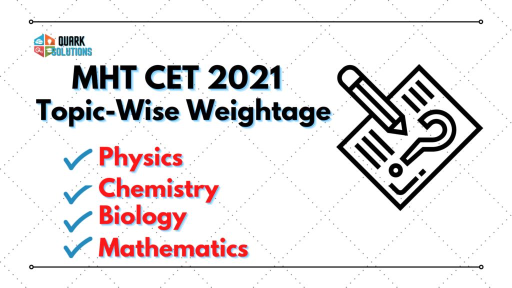 MHT CET 2021