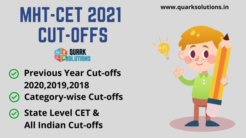 MHT CET 2021 Cutoff